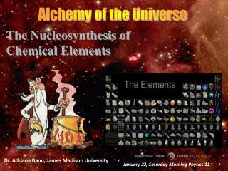 Alchemy of the Universe