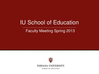 IU School of Education