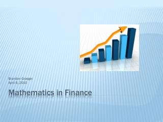 Mathematics in Finance