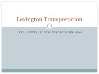 Lexington transportation