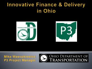 Innovative Finance & Delivery  in Ohio