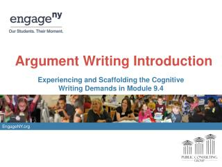 Argument Writing Introduction