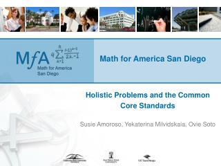 Math for America San  Diego