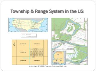 Township & Range System in the US