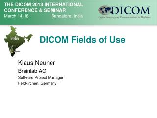 DICOM Fields of Use