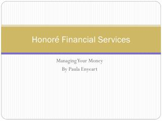 Honoré Financial Services