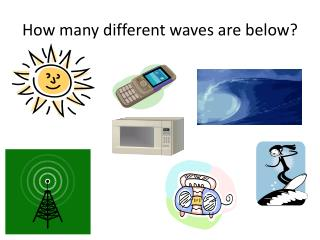How many different waves are below?