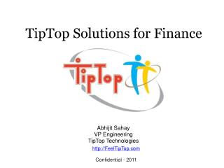 TipTop Solutions for Finance