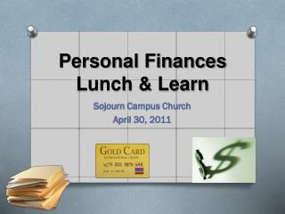 Personal Finances Lunch & Learn
