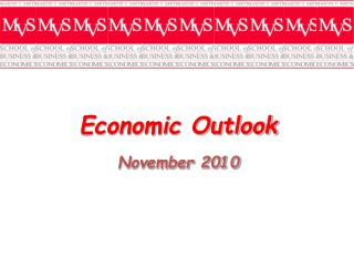 Economic Outlook November  2010