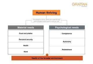 Human thriving