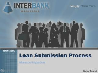 Loan Submission Process