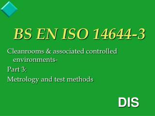 BS EN ISO 14644-3