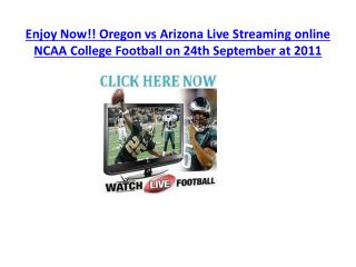 enjoy now!! oregon vs arizona live streaming online ncaa
