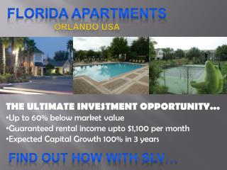 FLORIDA APARTMENTS Orlando USA