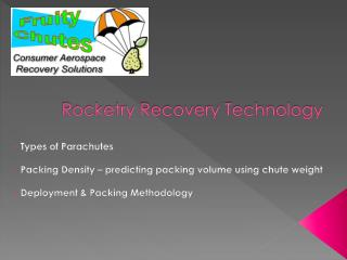 Rocketry Recovery Technology