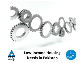 Low-Income Housing Needs in Pakistan