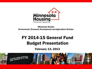 Minnesota Senate Environment, Economic Development and Agriculture Division