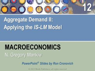 Aggregate Demand II: Applying the  IS - LM  Model