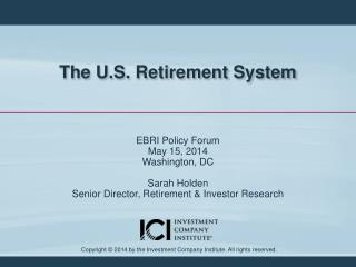 The U.S. Retirement System