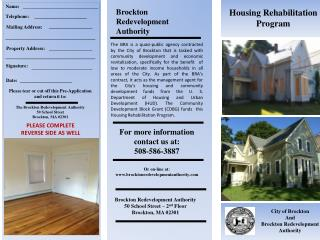 Brockton Redevelopment Authority