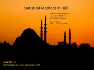 Statistical Methods in HEP