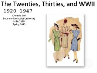 The Twenties, Thirties, and WWII