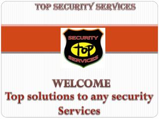 TOP SECURITY SERVICES