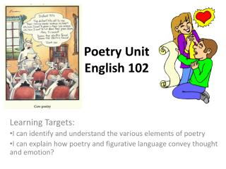 Poetry Unit English 102