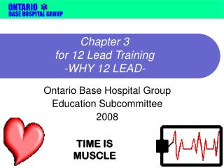 chapter 3  for 12 lead training -why 12 lead-