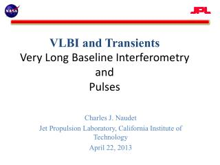 VLBI and Transients Very Long Baseline Interferometry and Pulses
