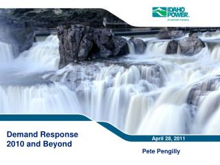 Demand Response  2010 and  Beyond