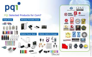PQI  Selected Products for Com7