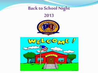 Back to School Night 2013