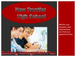 New Frontier  High School