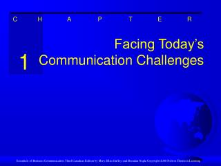 Facing Today's Communication Challenges