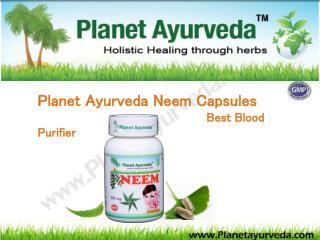 Planet Ayurveda Neem Capsules Best Blood Purifier