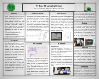Defining  the RF jamming system and showing the importance and need of using it in many places.