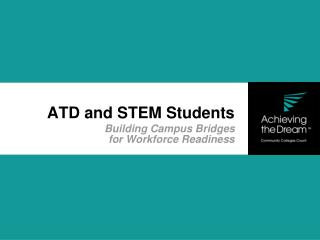 ATD and STEM Students