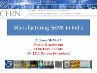 Manufacturing GEMs in India
