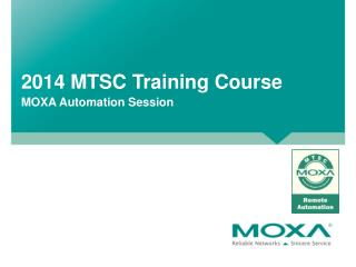 2014 MTSC Training Course