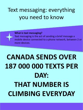 Text messaging: everything you need to know