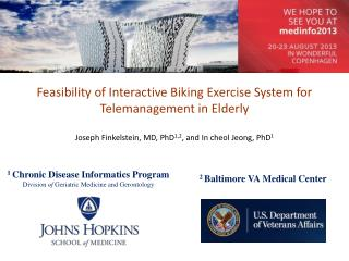 Feasibility of Interactive Biking Exercise System for  Telemanagement  in Elderly