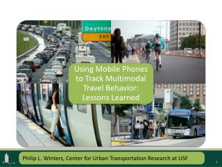Philip L. Winters, Center for Urban Transportation Research at USF
