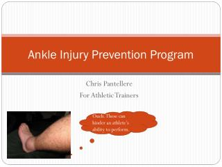 Ankle Injury Prevention Program