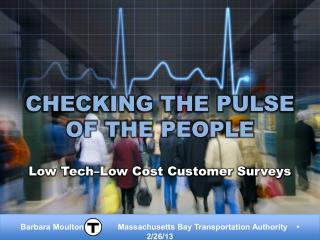 Checking the Pulse of the People