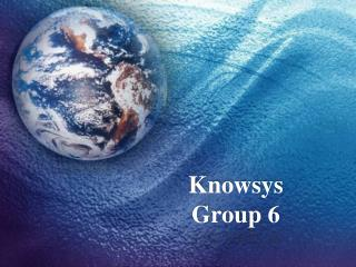 Knowsys Group 6