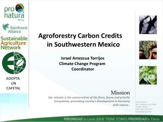Agroforestry Carbon Credits in Southwestern Mexico