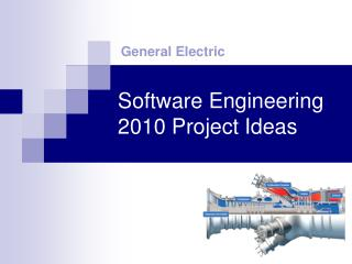 Software Engineering 2010 Project Ideas