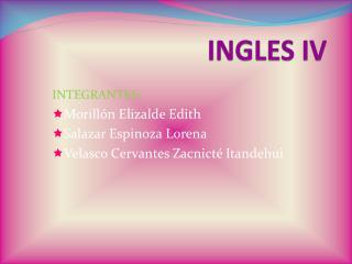 INGLES IV